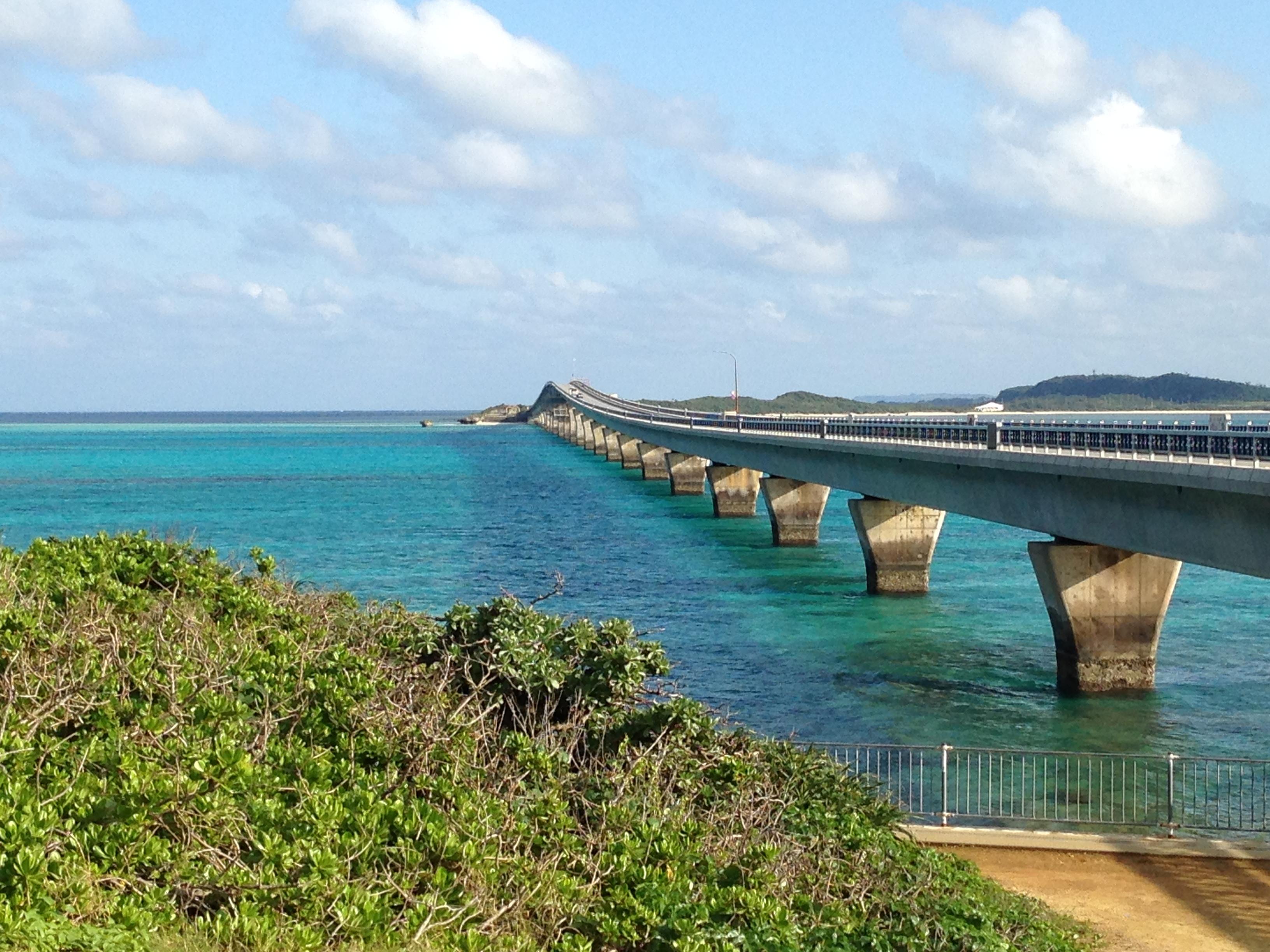 池間島から見た池間大橋