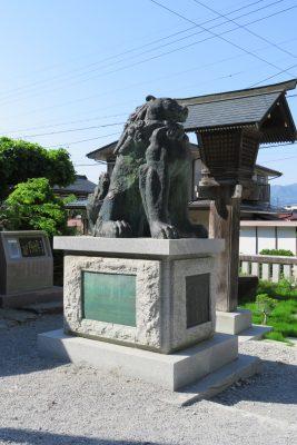 諏訪大社 狛犬